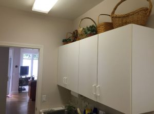 Dedicated laundry room conversions.