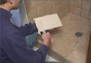 How to back butter ceramic tiles