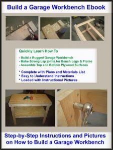 How to Build a Garage Workbench eBook