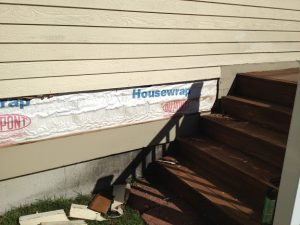 How to repair house siding