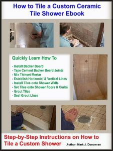 How to Install a Mortar Shower Pan Liner eBook.