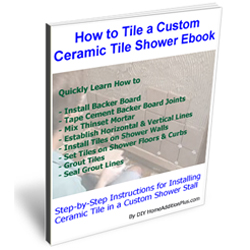 How to Tile a Custom Ceramic Tile Shower Ebook