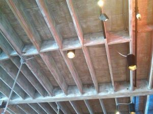 Industrial Ceiling for Basement Ceiling