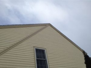 Replacing Rake Trim Boards on Gable Ends of House