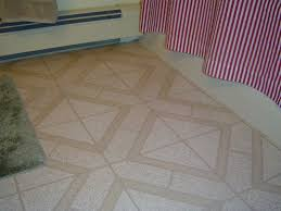 Installing tile over linoleum flooring