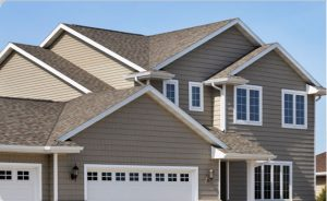 Vinyl siding adds value to home