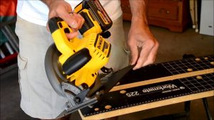 How to make consistent and repetitive cuts with a circular saw.