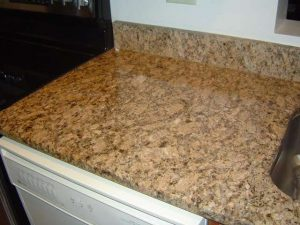 Sealing granite kitchen countertops