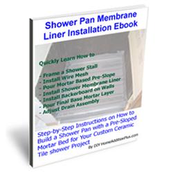 Mortar Shower Pan eBook
