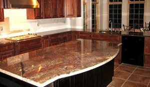 Granite countertops protected with Hydroshield