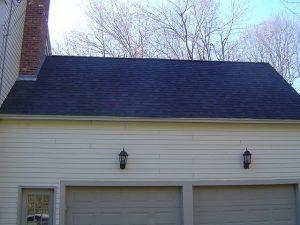 Finished Asphalt Roof Shingle Installation
