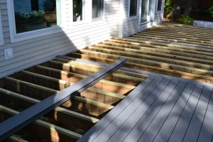Redoing our deck by resurfacing the Deck with Trex Select Composite Decking.