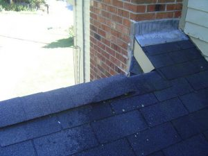 Typically roofing cement is used on ridge vents and where the roof shingles come in contact with fireplaces.