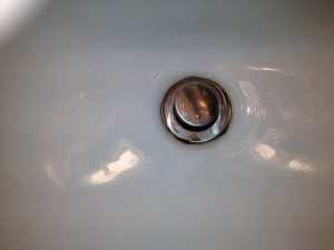 Clogged Sink