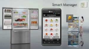 The smart refrigerator is just one example of the future in smart home technology.