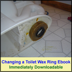 Toilet Wax Ring Replacement Ebook