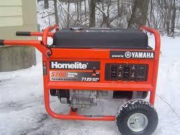 Homelite Portable Generator