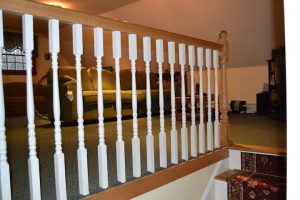 How to Evenly Space out Balusters along a Railing