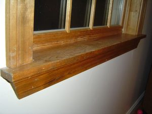 Installing Window Trim with Apron and Window Stool Cap