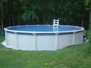 Tips on installing an above ground pool.