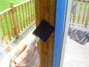 Removing sliding glass door