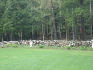 How to build a stone wall.
