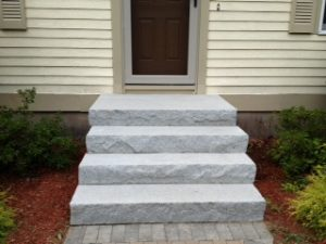 Installing Granite Steps
