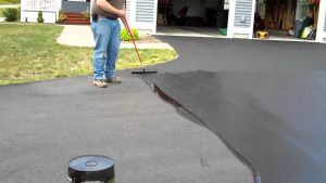 How to seal your driveway.