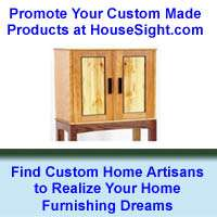 """HouseSight"" Provides Free Online Marketplace for Connecting Home Themed Custom Artisans with Consumers"