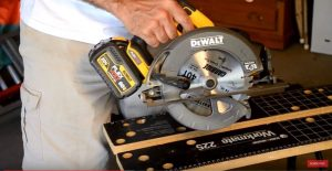 "DEWALT FLEXVOLT System and 7-1/4"" Circular Saw (DCS575) Review Video"