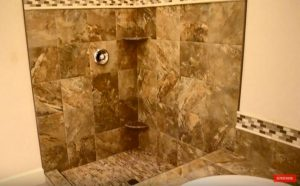 Tiling Master ensuite Tile Shower Tub