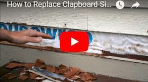 How to install house siding.