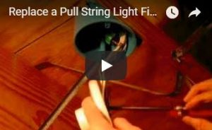 Pull Chain Light Switch Video
