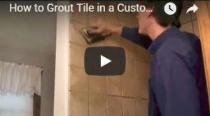 Grout Tile Shower