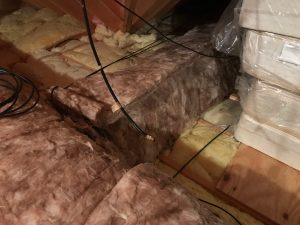 Condensation on HVAC Flex Tubing Ductwork in Attic