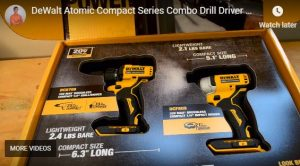 DeWalt Drill Driver and Impact Driver Combo Kit DCK278C2
