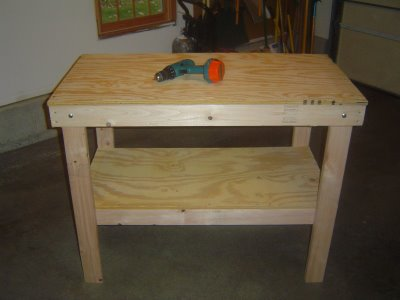 How to Build a Garage Workbench Ebook.