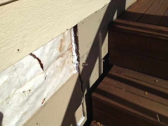 Siding repairs repair masonite