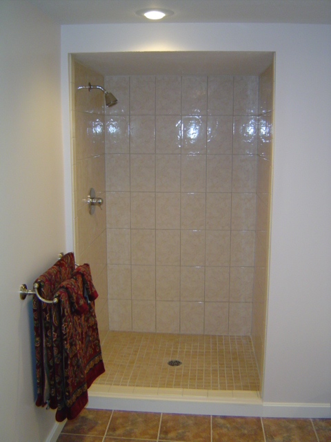 Building A Shower Stall
