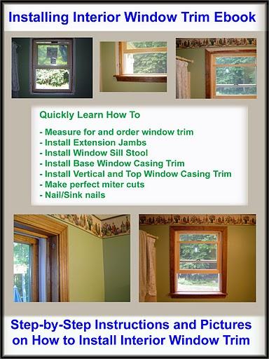 Installing Interior Window Trim Ebook