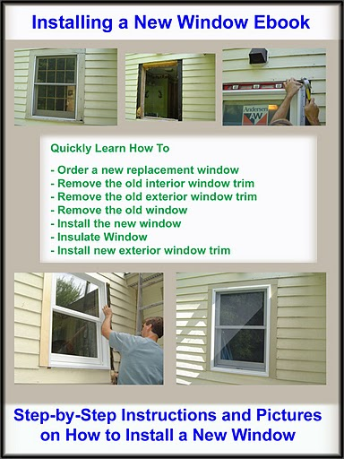 Installing A New Window Ebook Homeadditionplus
