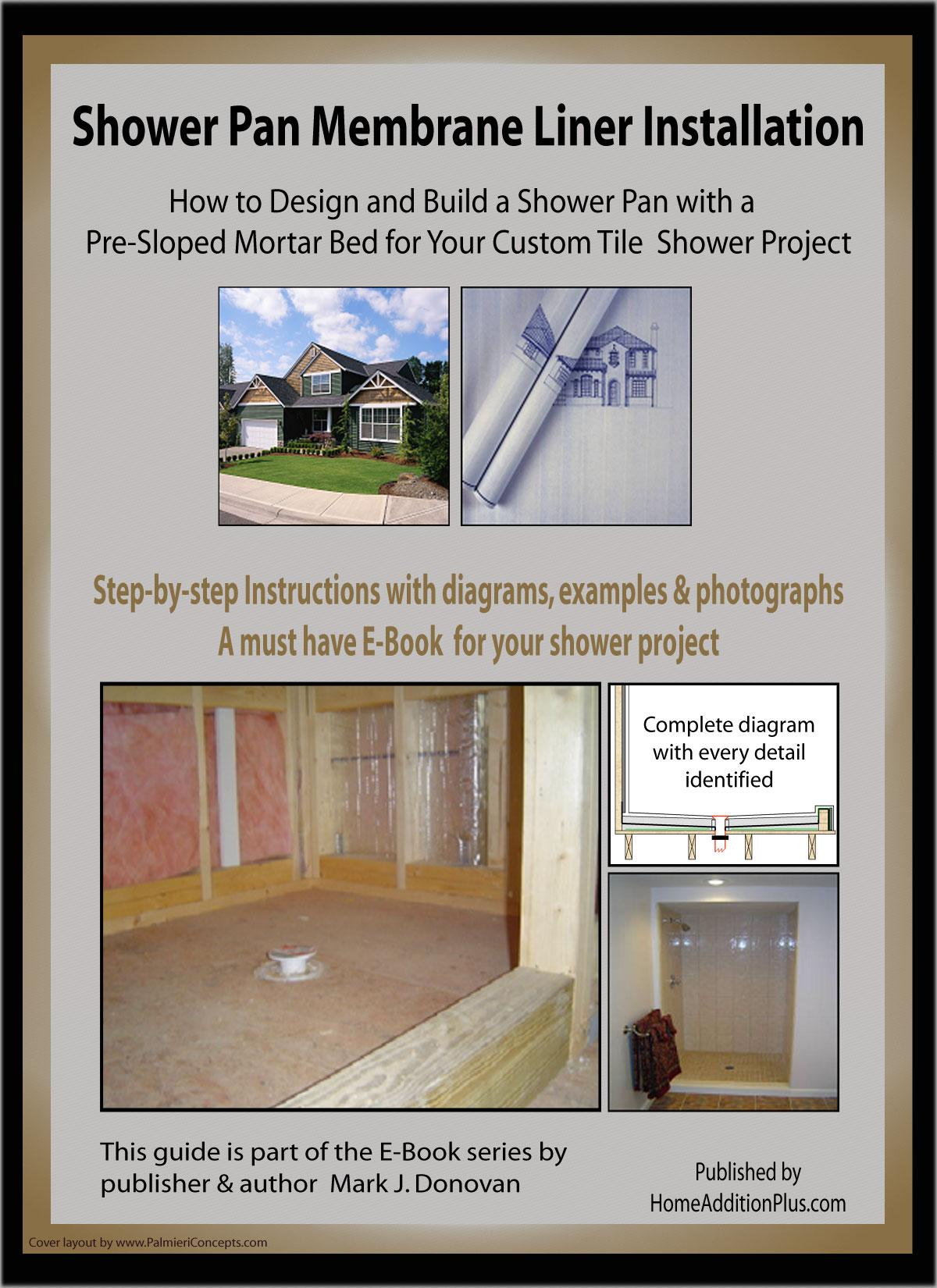 Shower Pan Membrane Liner Installation Ebook Cover