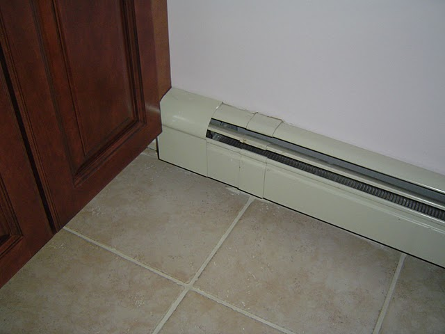 Baseboard Heating Element Cover