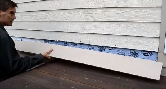 How to replace clapboard siding