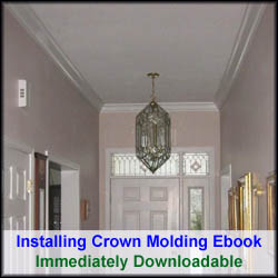 Installing Crown Molding Ebook