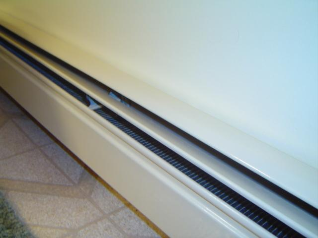 Hot Water Baseboard Heating System - Baseboard Heating Element