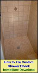 How to Tile a Custom Shower Ebook
