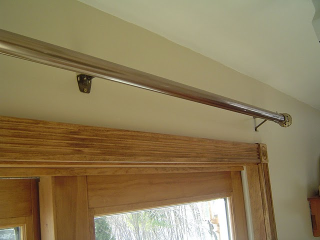 Curtain Rod For Corner Windows Curtains Over Sliding Glass