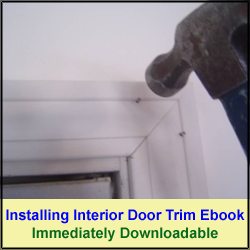 Installing Interior Door Trim Ebook