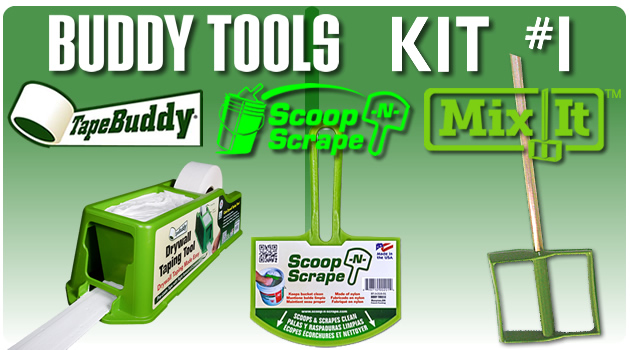 Buddy Tool Kit for Drywall Installation